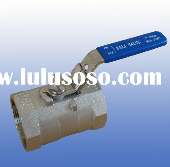 1pc ball valve with reverse handle