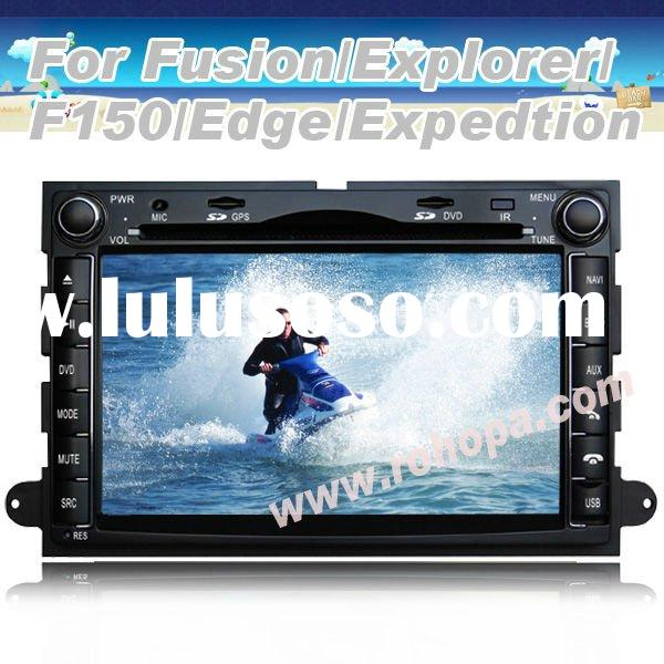 2011 Hot-selling 7 inch Double Din Car DVD Radio Special For Ford Fusion With Steering Wheel Control