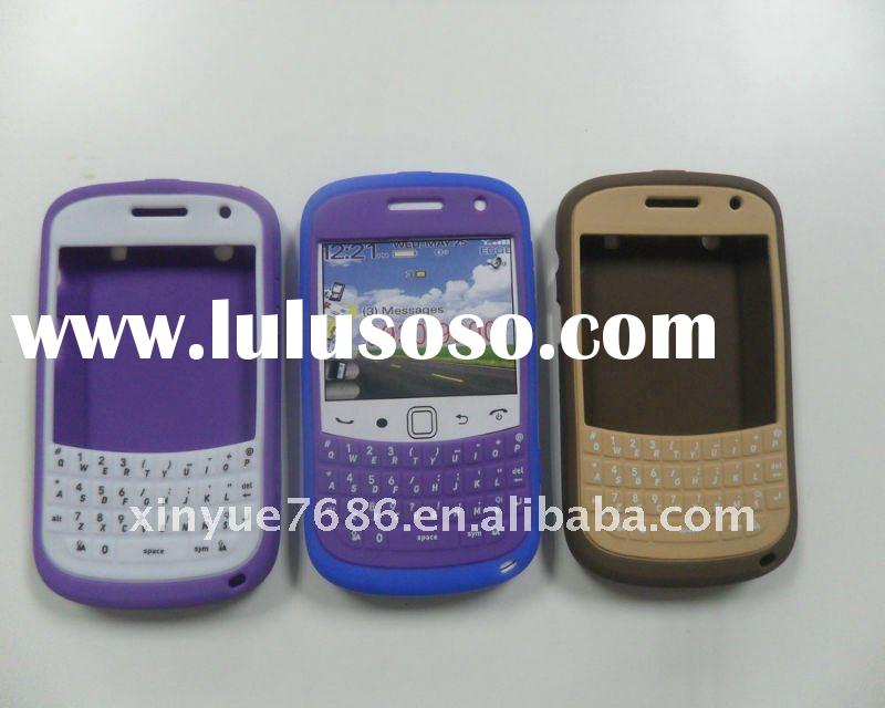 2011 New Arrival Silicone Case for Blackberry Bold 9900