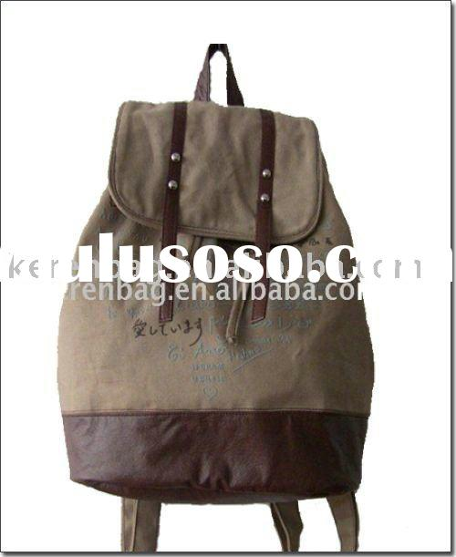 2011 New Style Canvas Backpack