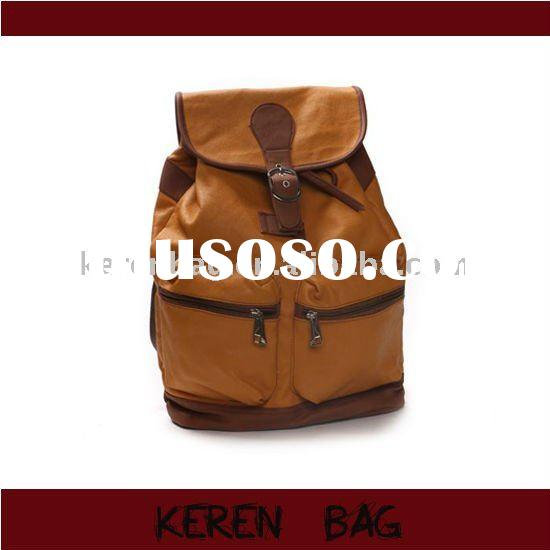 2011 New Style Coated Canvas Backpack
