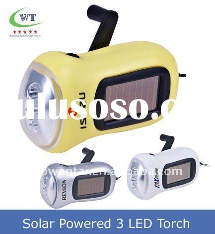 2011 New Style Solar Powered LED Torch