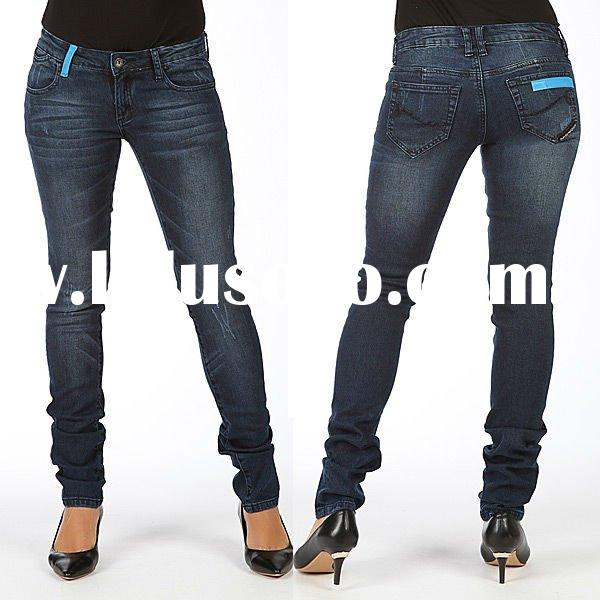 2011 Very Popular Newest High Quality Famous Brand Design Fashion Casual woman's Denim Jeans