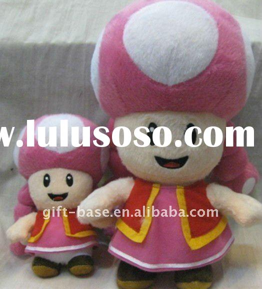 2011 hot selling New super mario bros toadette plush soft toys
