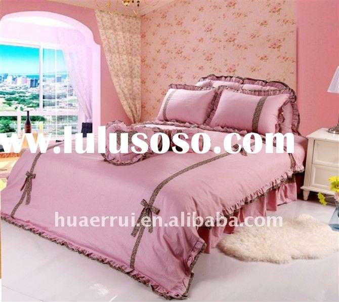 2011 new ruffled princess quilt/bed sheet/bedding set/bed cover /duvet cover/bedspread