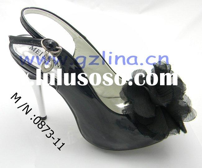2011 the new design fashion high heel lady shoes