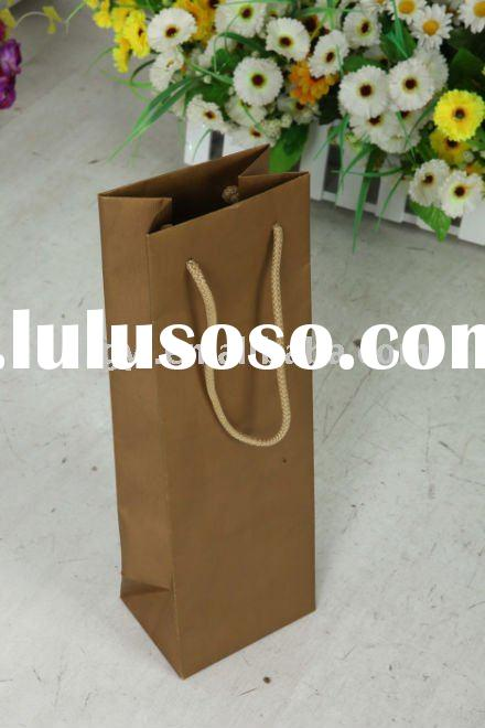 2011hot sell wine packing paper bag