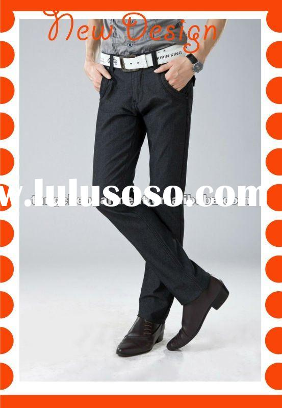 2012 new design man fashion jeans, denim jeans with hot selling