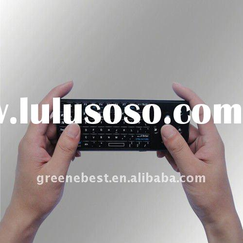 2.4G Mini Wireless laser Keyboard with Mouse Trackball