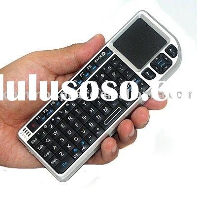 2.4g wireless mini Keyboard with touch pad