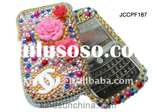 3D bling rhinestone cell phone cases