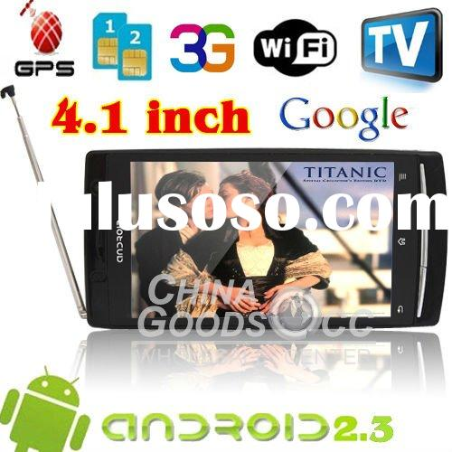 3G android dual sim wifi phones GPS GSM+WCDMA Unlocked WIFI smart phone