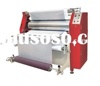 """73"""" CE certificate roller large format sublimation thermo press transfer machine for t-shirt"""