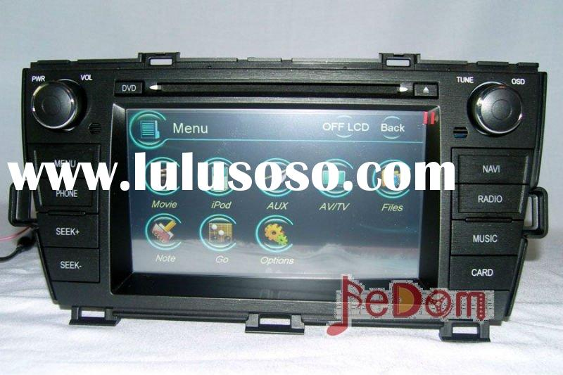 7' HD digital TFT touch screen In-dash DVD GPS head unit for for Toyota Prius+Map+iPod+bluet
