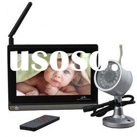7 inch wireless baby monitor with 2.4GHz cameras