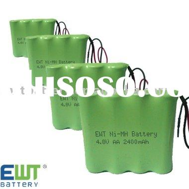 AAA 4.8V rechargeable NiMH battery pack for power tools