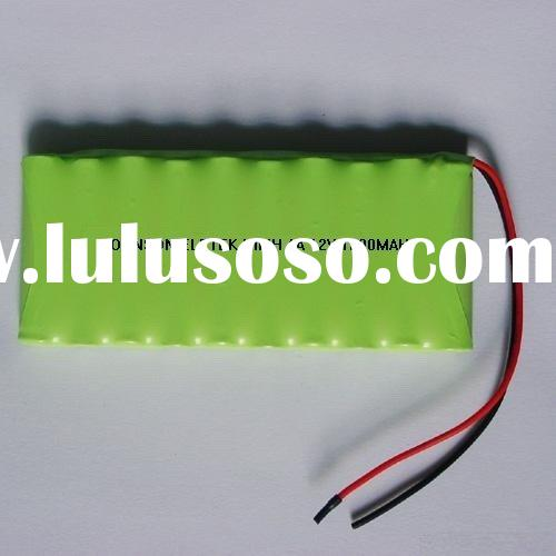 AA 12V nimh battery pack (rechargeable battery)