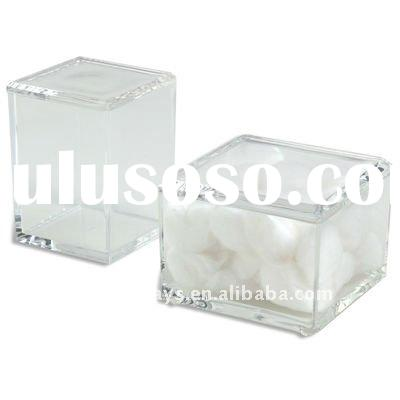 Acrylic Box with Lid Clear (HF-A-0178)