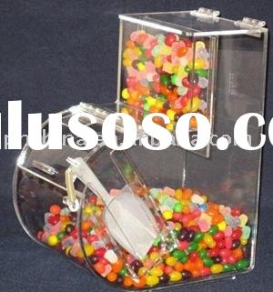 Acrylic Candy Box,Acrylic Candy Dispenser - With Scoop Holder