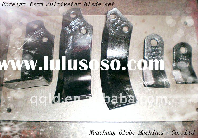 Agricultural cultivator blades for Italian farming equipment