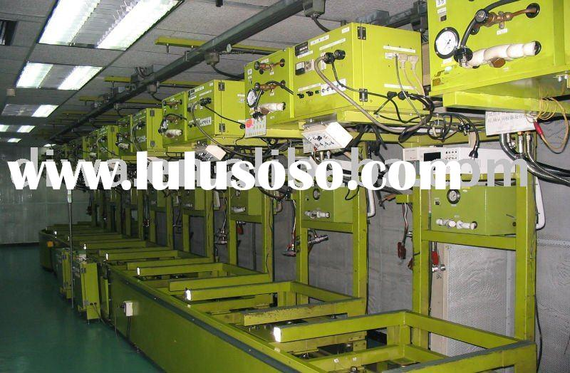 Air conditioner assembly line