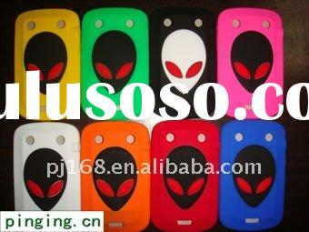 Alien Silicon Mobile Cell Phone Case Cover For Blackberry 9900