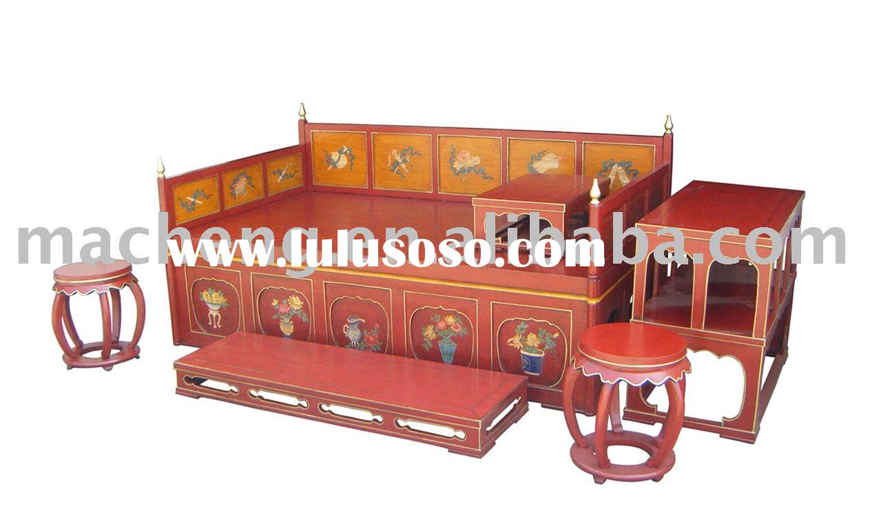Chinese Opium Bed Furniture Antique Reproduction Furniture For Sale Price China Manufacturer