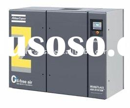 Atlas Copco Oil free air Compressor (ZT/ZR 110-750 & ZR 132-900 VSD), Air or water cooled oil-fr