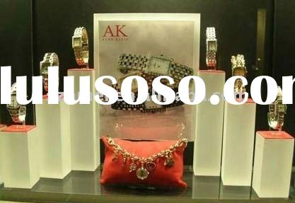 Attractive clear countertop best acrylic watch display