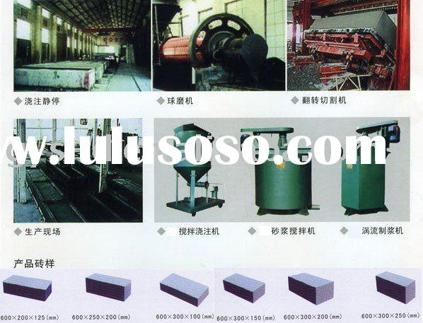 Autoclave Aerated Concrete (AAC) Block Production Line