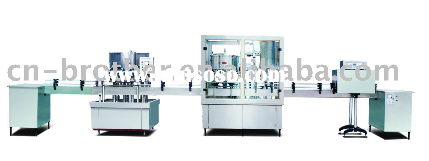Automatic Bottle Washing, Filling and Capping Product Line