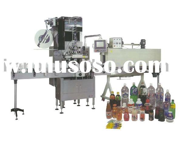 Automatic beverage bottle labeling machine ( sticker label machine , shrink label machinery)