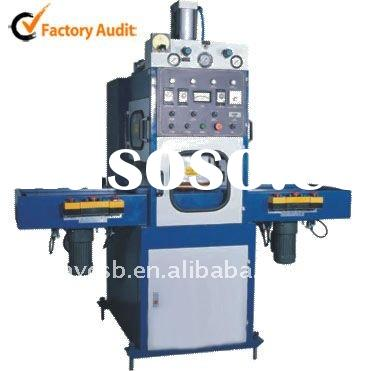 Automatic slipway high frequency welding and cutting machine