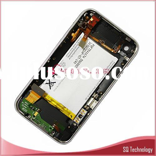 Back Cover Housing for iPhone 3G with Front Bezel Frame and Battery full set Assembly