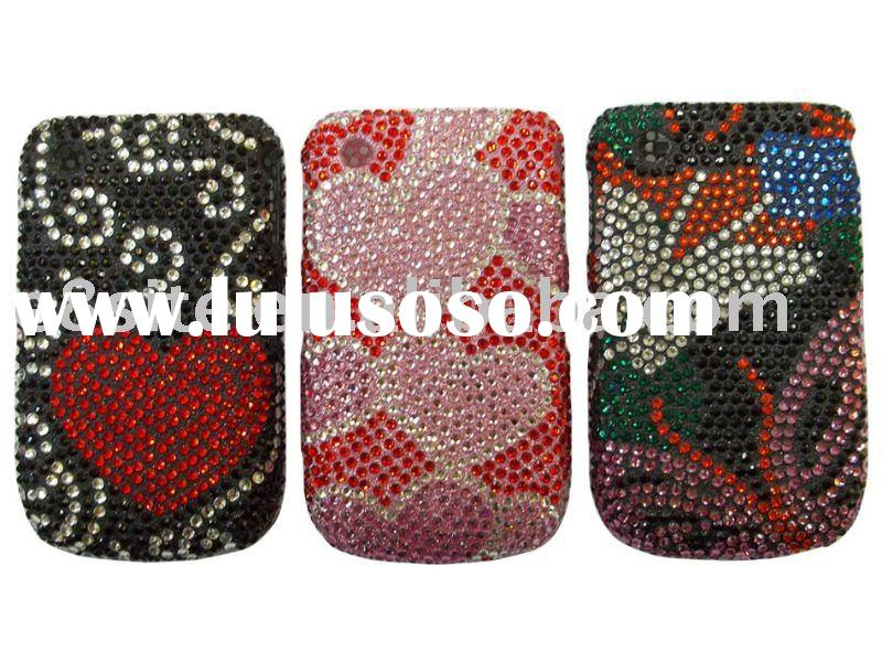 Bling Diamond Hard Case Shell Cover For Blackberry 8520