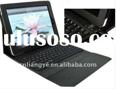 Bluetooth Keyboard Leather Case Cover for iPad 2