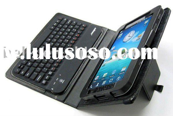 Bluetooth Keyboard for HTC EVO View 7' with leather case