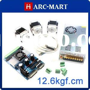 CNC controller kit 3 Axis Stepper Driver Controller + NEMA 23 Step Motor *3 + 24V Power Supply #UC14
