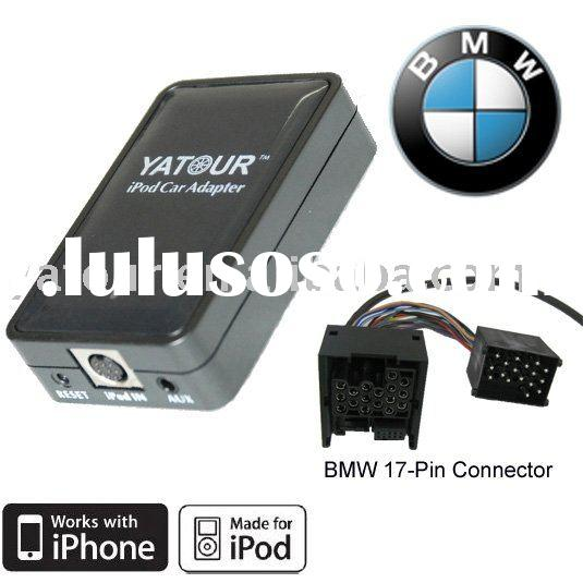 Car Adapter for ipod for BMW round 17-pin factory stereo
