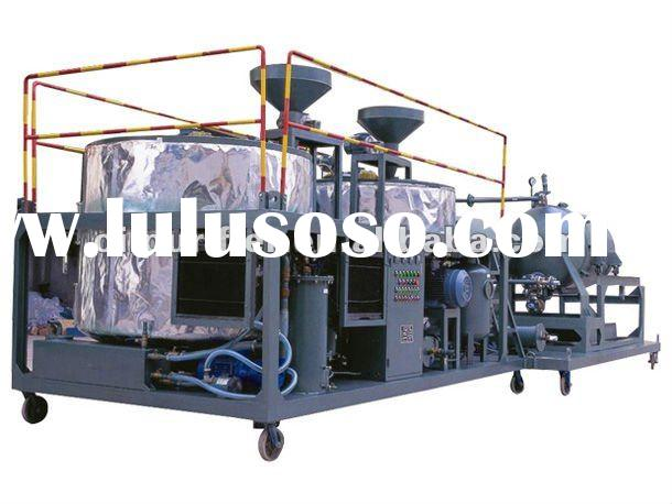 Car used oil recycling machine/ Engine oil purifier/ oil reprocessing