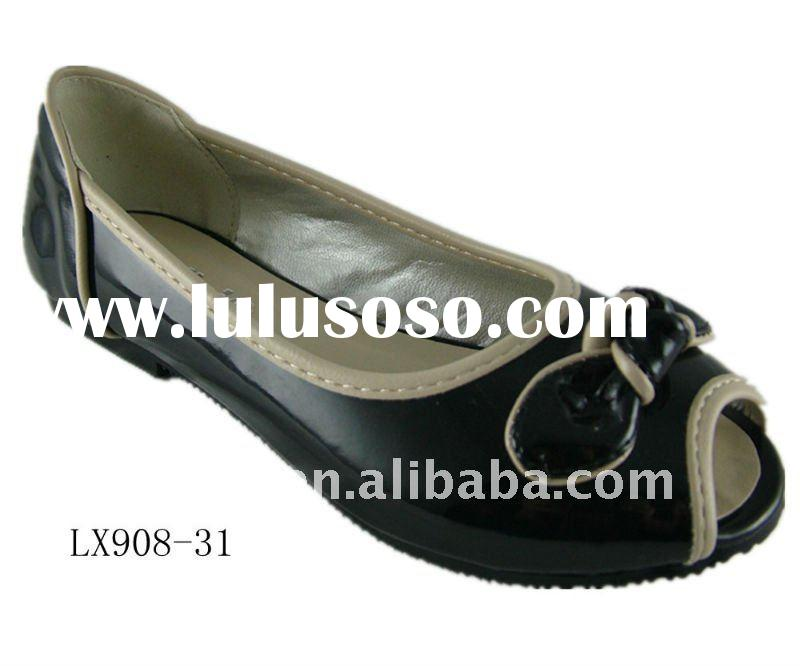 Cheap leather wholesale kids shoes