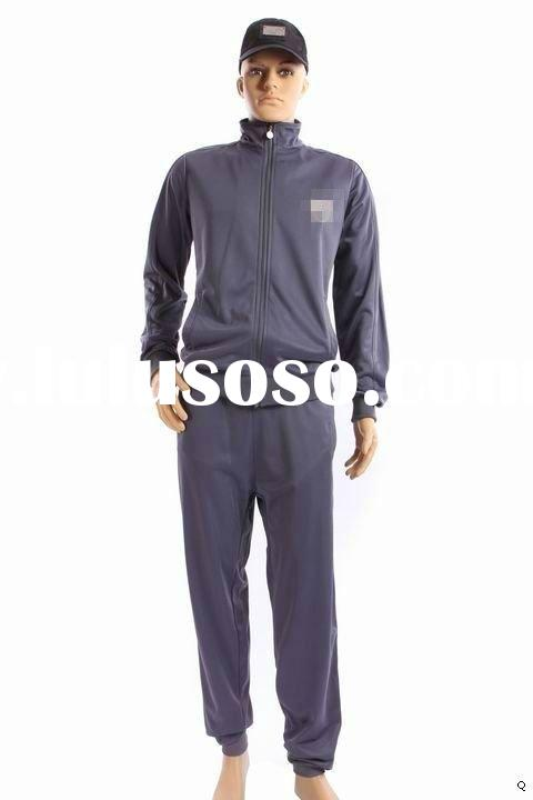 Cheap price high quality New design brand name sport men suit tracksuits training suits training sui