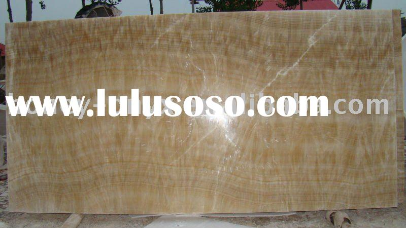 Chinese marble natural pervious to light the jade Deluxe floor tile onyx marble tiles prices
