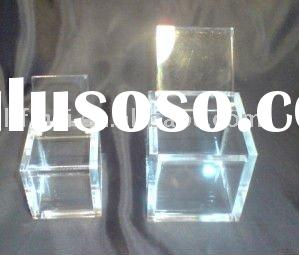 Clear acrylic box&acrylic box with lid