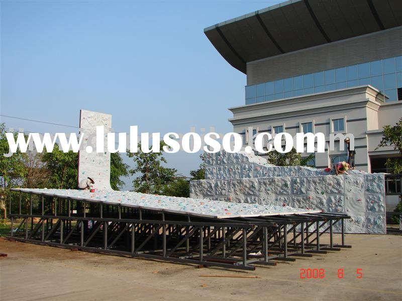 Climbing wall ,rock climbing wall,playground ,outdoor playground