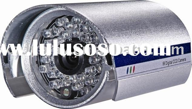 Color IR Waterproof CCD Security System Camera with 24 IR LEDs