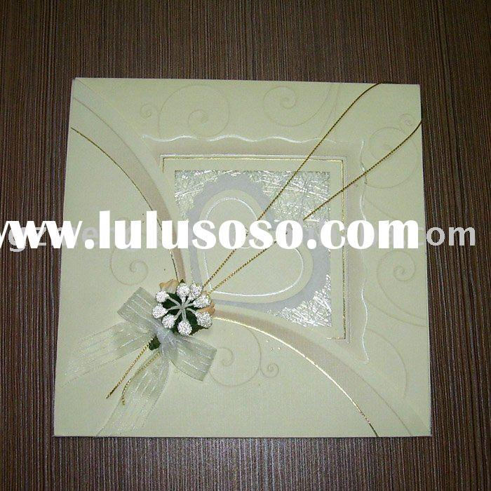 Creative handmade wedding invitations t004 for sale for Handmade wedding invitations for sale