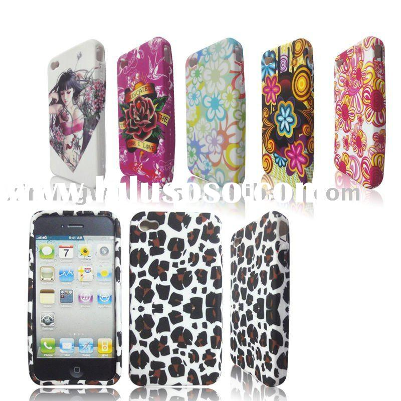 Decal skins Design Case for Apple iphone 4 4G(Rubberized case)