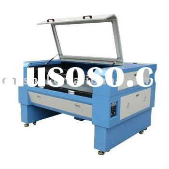 Double head Fabric & Leather Laser Cutting Engraving Machine HS-T9060D/1280D/1680D