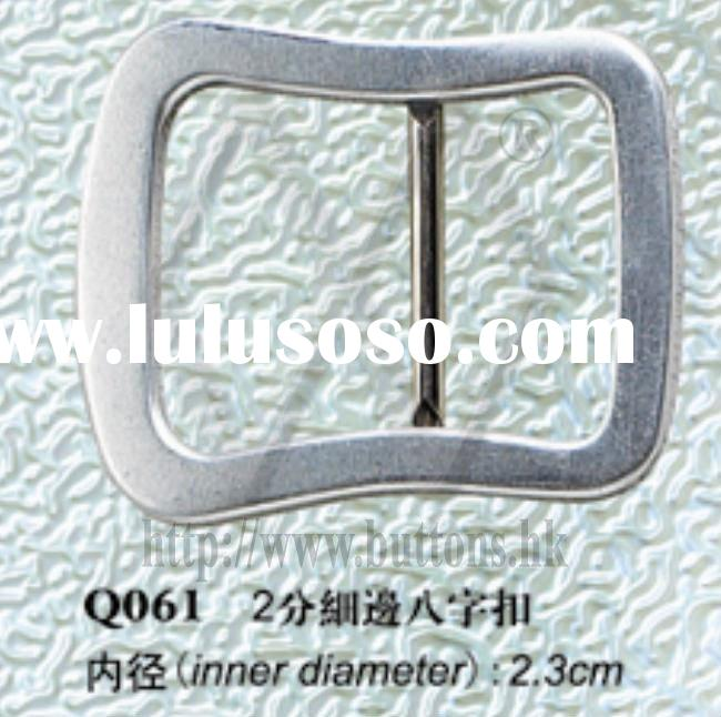 Fabric & Leather 8 SHAPE Covered Buckles Parts